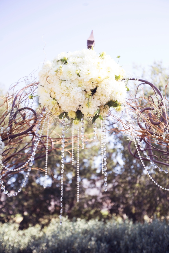 rustic chic wedding maravilla gardens