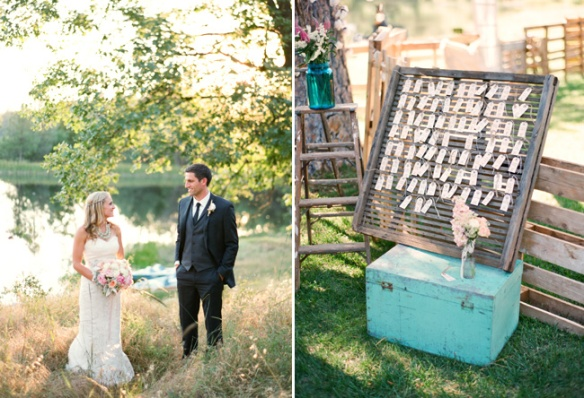 blush romantic wedding