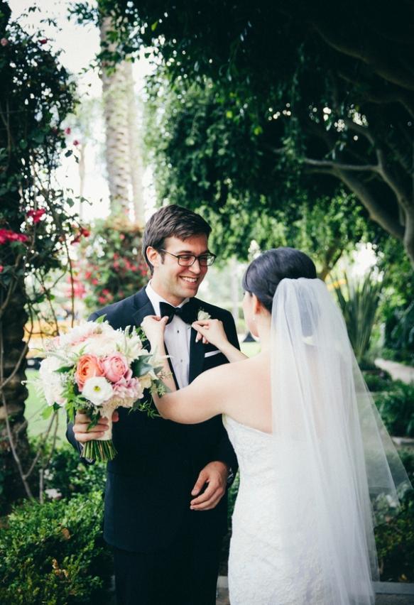 3 Blush Wedding Bouquet